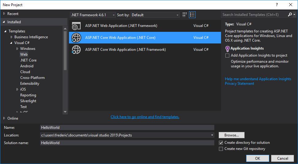 Deploy ASP.NET Core Web Application – Frederic Paladin
